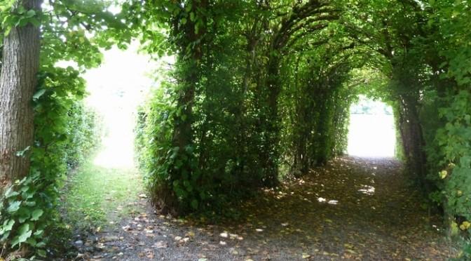 ベルギーの秘密の花園があるお城