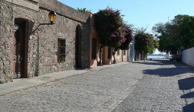 スペインとポルトガルが混じる町