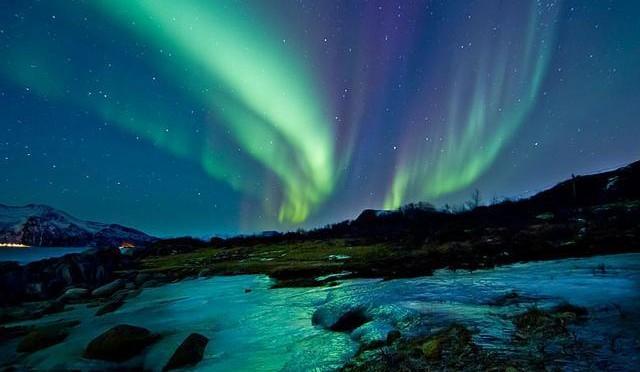 白夜やオーロラなど北極圏特有の自然を体験できるトロムソ