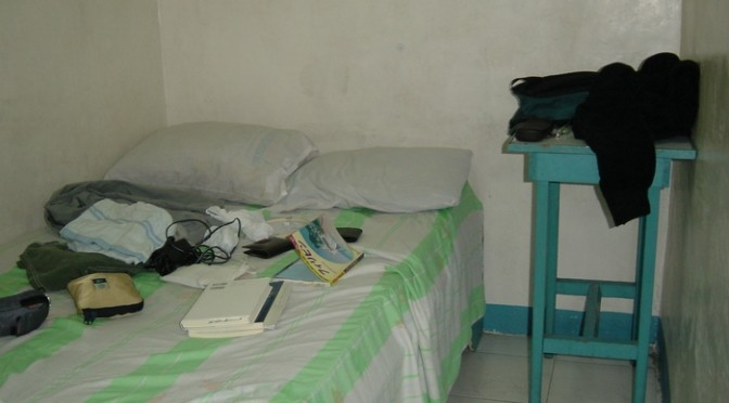 フィリピンの500円の宿。最低級じゃないよ、中級だよ。