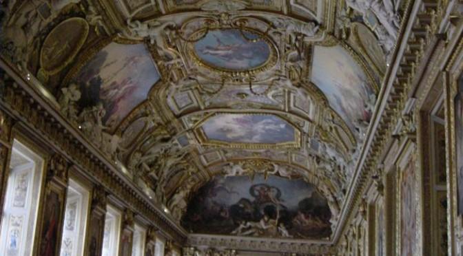 展示物よりも凄いんじゃないかと思える天井